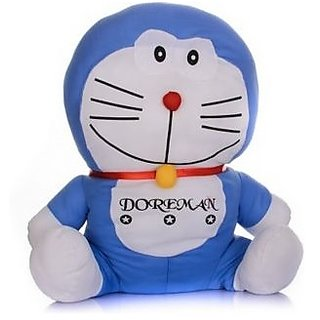 Doremon - Soft Toy 26 cm(H) Blue
