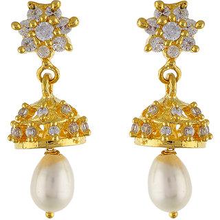 VijKan earing for fashion girls womens Golden