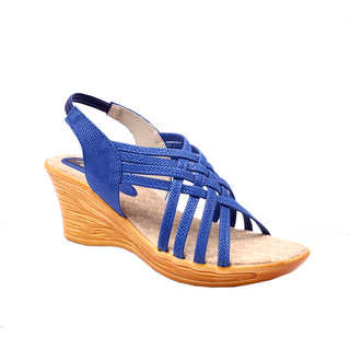 Stylsih Blue wedges by Rimezs