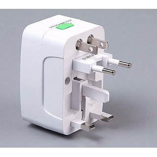 Universal International Travel Adaptor All in One Power Plug Adapter Surge Uni