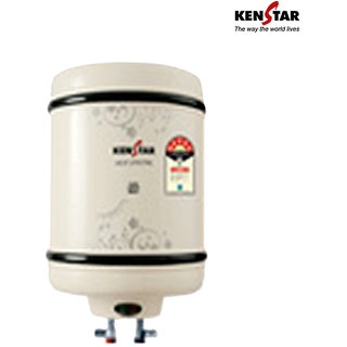 Kenstar 25 L Electric Water Geyser White Hot Spring KGS25W5M