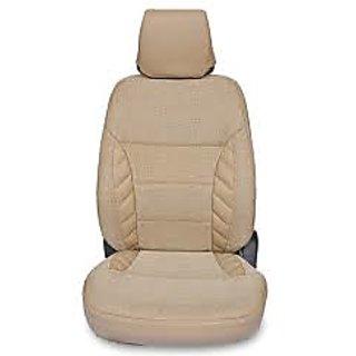 Ford Figo BeigeLeatherite Car Seat Cover