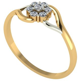 Diamond Ring In 18 ct. Gold