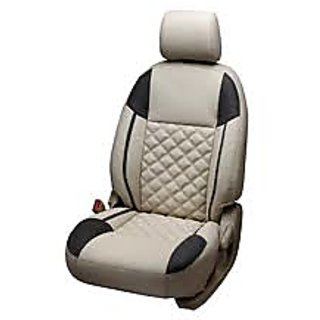 Hyundai Grand I10 Beige Leatherite Car Seat Cover