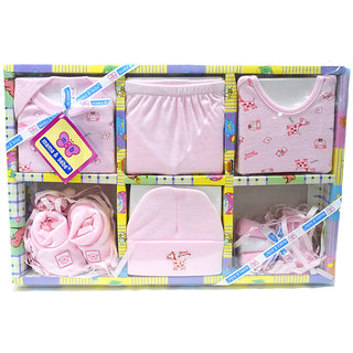 Mama  BebeS Infant / New Born - 0 - 6 Months Gift Set, Color-Pink