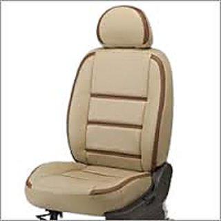 Mahindra Bolero Beige  Leatherite Car Seat Cover