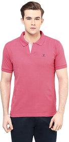 Ziera Pink Polo T Shirts