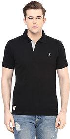 Ziera Black Polo T Shirts