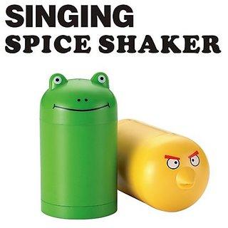 Singing Musical Salt  Pepper Spice Shaker Set