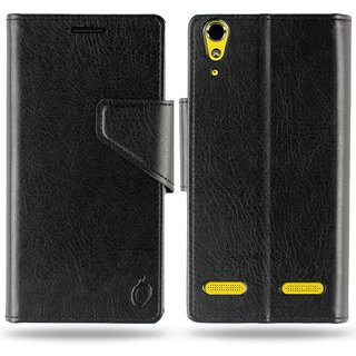Cool Mango Business Flip Cover for Lenovo A6000 / A6000 Plus