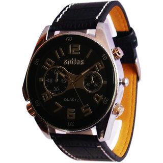 Sottas Sports Analog Black Dial Men's Watch - 2001192