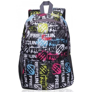 F Gear Saviour P1 Grey Printed 19 Ltrs backpack