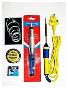 Techamazon Combo Offer 5 in1 Soldering Iron Tool Set for engineering project