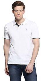 Ziera White Polo T Shirts