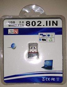 USB WIFI ADAPTER DONGLE FOR LAPTOP  DESKTOP WI FI