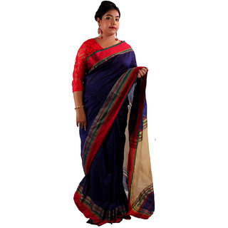 Bengal Handloom Terchi Par Saree