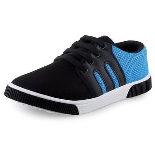 Mens Blue Casual Sports Sneaker Shoes
