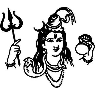 X Inchs Shivji With Damroo Vinyl Sticker For Car And Bike Buy - Vinyl stickers for bikes