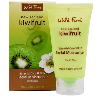 KIWIFRUIT FACIAL MOISTURISER WITH SPF 15+ 75 ML