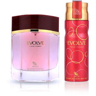 Ekoz Evolve femme deo  perfume combo