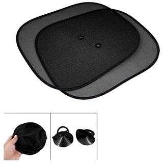 Stylobby Black Sun Shade For Pack Of 2 Mahindra E20