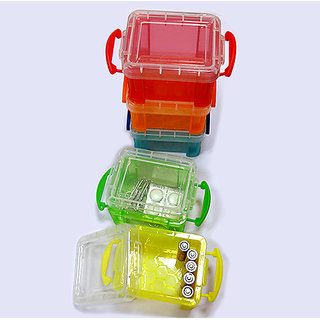 Very Useful Box - Tansparent (0.14l) Set of 2pc (Assorted)