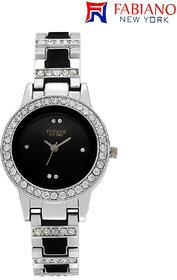 Fabiano New York Silver Womens And Girls Casual Analog Wrist Watch