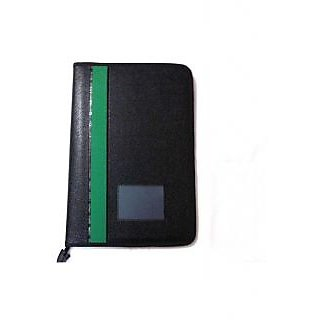250041252e9 Buy Black Faux Leather Portfolio File - B4 Size - 20 leafs Online ...