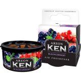 Areon Ken Car,Home,office Air Freshener BlackCurrant Fragrance