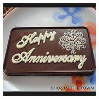 Happy Anniversary Chocolate Bar