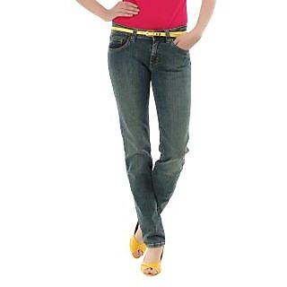 Lee Plain Blue Eva Mid Slim Skinny Jeans