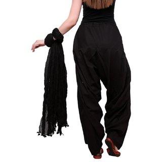@rk free size  Black color Punjabi Ethinic Ready made patiala salwar ,for ladies ,Girls
