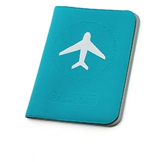 TGIF Passport Covers Long (For Tickets Credit Cards etc) (Blue)