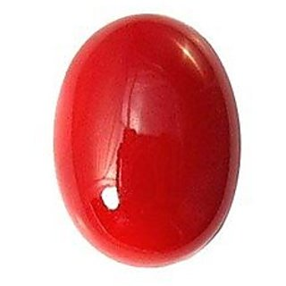 Jaipur Gemstone 4.00 ratti red coral(moonga) DEI375