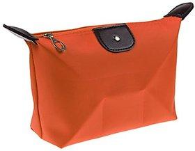 Futaba Fashion Travel Cosmetic Bag - Orange