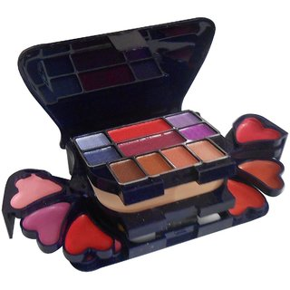 Buy Pamper Color Series Makeup Kit 8 Eyeshadow 1 Power Cake 8 Lip Color 2 Blusher (Product Color May Vary) 22g Online - Get 0% Off