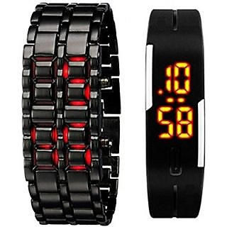 TRUE COLORS COMBO OF DIGITAL SAMURAI LED SPECIAL SUMMER COLLECTION Digital Watch - For Boys, Men, Couple