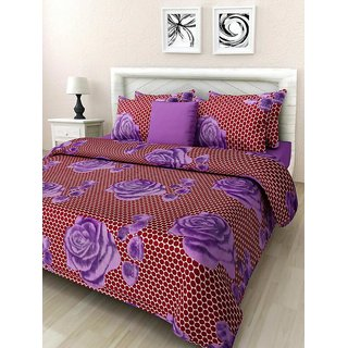 Home Candy 144 TC 100 Cotton Bed Sheet Covers