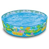 Intex 5 Feet Swimming Pool For Kids(Multicolor)
