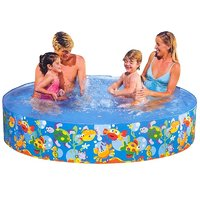 Intex 6 Feet Swimming Pool For Kids(Multicolor)