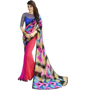 Ladies Flavour Presents Charming Multi Color Saree