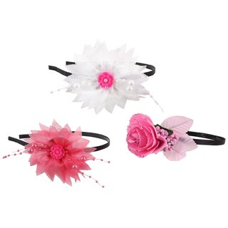 My DT Lifestyle FLOWER SHAPE METAL HAIR BAND COMBO (KHB12)