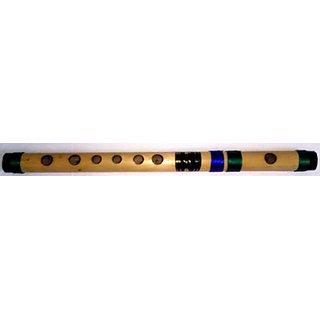 Traverse Flute (Bansuri) (Tonic  Hindustani Safed-7, Western B) Bamboo