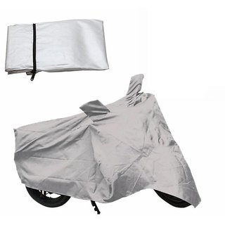Voibu Body Cover for Bajaj pulsar 180 (Silver)