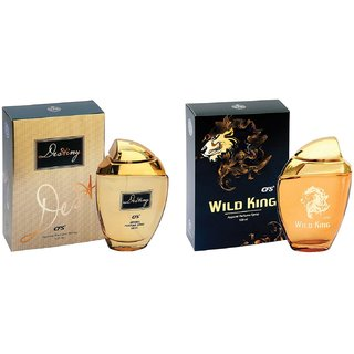 CFS Exotic Destiny Gold and Wild King Combo Perfume 100ML+100ML