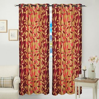 JARS Collections Single Window Curtain(4x5 ft)