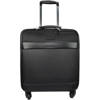 Texas 18 inch 4 wheel Trolley Cabin Bag- Exclusive Pilot Bag ShapeemzlugPIL6800black