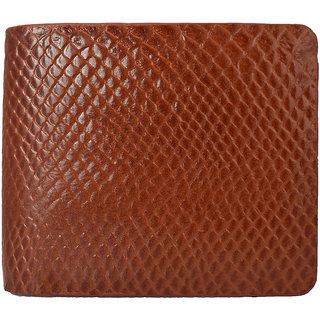 Moochies Gents Pure Leather Wallet Size-10x12x2 CMS Tan emzmoc2201tan
