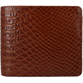 Moochies Gents Pure Leather Wallet,Size-10x12x2 CMS,Tan emzmoc2301tan