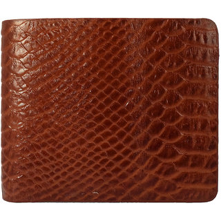 Moochies Gents Pure Leather Wallet Size-10x12x2 CMS Tan emzmoc2501tan